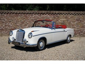 Picture of 1960 MERCEDES-BENZ W128 220 SE PONTON CABRIOLET, MANUAL GEARBOX For Sale