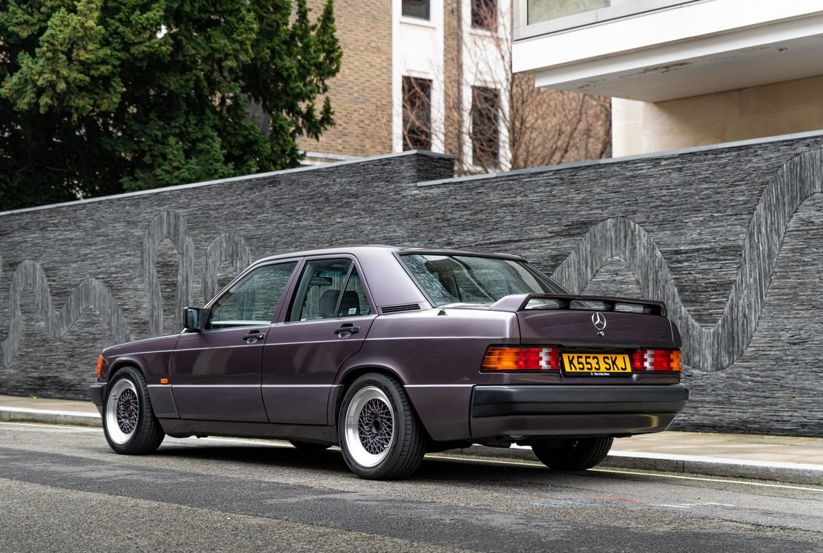 1992 W201 Mercedes-Benz 190E BBS/Cosworth For Sale (picture 2 of 12)