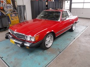 Picture of Mercedes Benz 380SL 1985  V8  3.8L For Sale