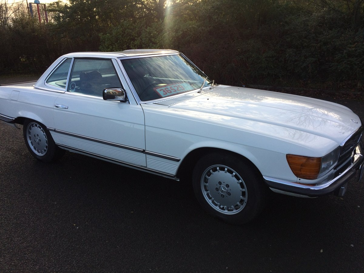 1984 Mercedes Benz 280SL For Sale (picture 1 of 7)