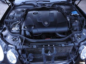 2009 REG  MERCEDS BENZ E220 DIESEL AUTO BLACK WITH LEATHER For Sale (picture 8 of 12)