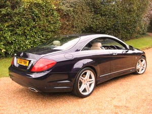 2011 Mercedes Benz CL500 AMG BlueEfficiency With Just 17000 Miles For Sale (picture 5 of 6)