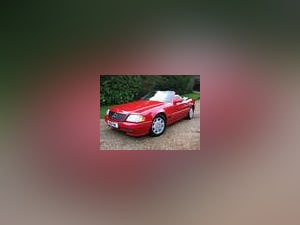 1994 Mercedes Benz SL280 With Only 26,000 Miles From New For Sale (picture 1 of 6)