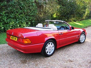 1994 Mercedes Benz SL280 With Only 26,000 Miles From New For Sale (picture 5 of 6)