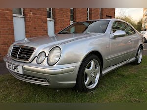 1999 Mercedes CLK CoupeAuto 3.2 AMG Line Edition 76K FSH Stunning For Sale (picture 1 of 6)