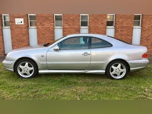 1999 Mercedes CLK CoupeAuto 3.2 AMG Line Edition 76K FSH Stunning For Sale (picture 6 of 6)