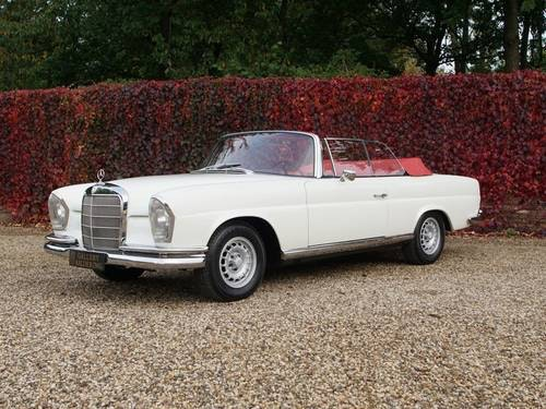 1968 Mercedes 250SE Covertible Fully Restored! For Sale (picture 1 of 6)