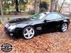 Picture of 2007 Mercedes SL 350 3.5 Convertible Sport Coupe Black For Sale