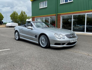 Picture of 2003 Mercedes SL55 AMG 2dr Convertible with Pan Roof For Sale