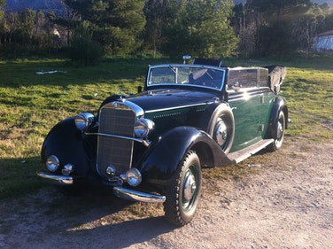 Picture of 1936 Mercedes-Benz 230 Cabriolet B, 40450mi from new For Sale