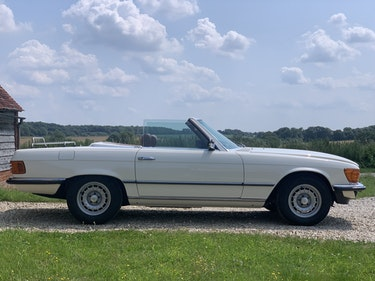 Picture of 1981 Mercedes R107 500SL Full documented restoration For Sale