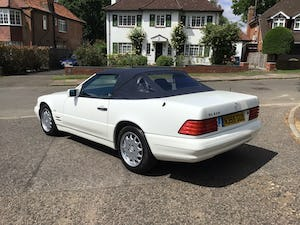 1996 MERCEDES SL 320  96   3 OWNERS   78,800 MILES ONLY For Sale (picture 27 of 28)