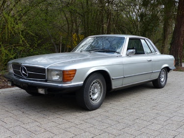 Picture of 1972 Mercedes 350 SLC Coupé with rare manual gearbox For Sale