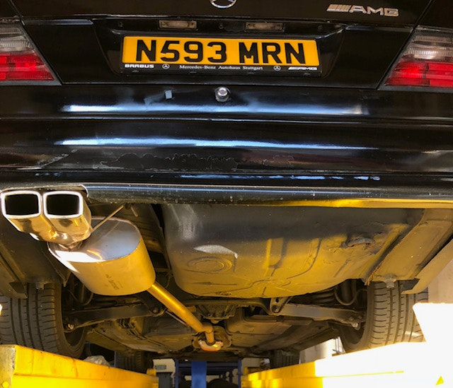 1995 Mercedes w124 2.2 petrol genuine AMG body kit For Sale (picture 10 of 12)