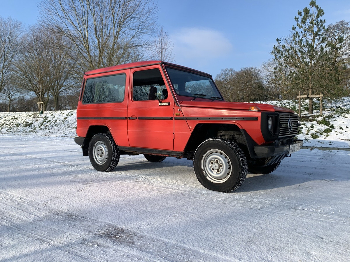 1991 Mercedes gwagon 300gd For Sale (picture 1 of 12)