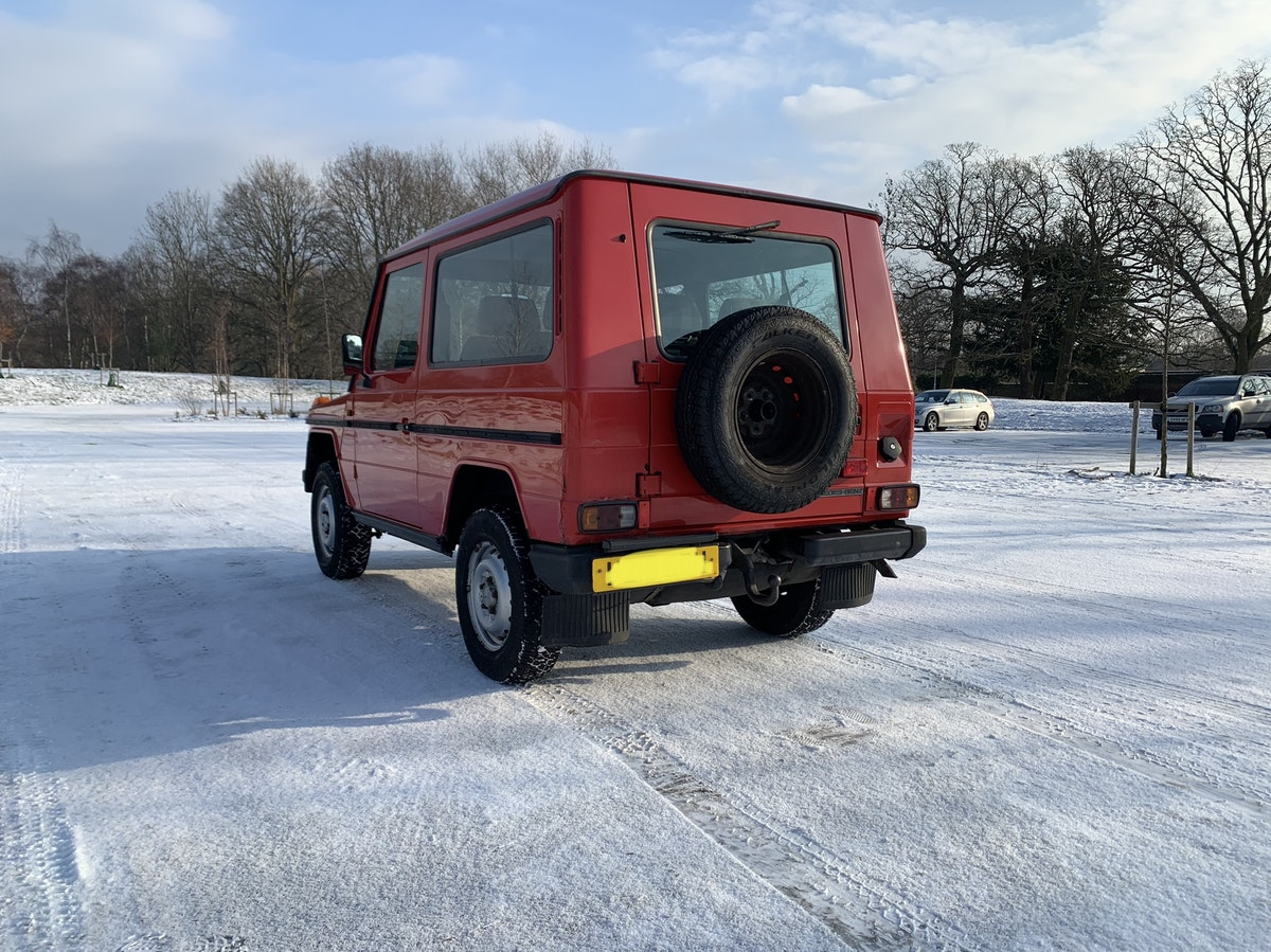 1991 Mercedes gwagon 300gd For Sale (picture 4 of 12)