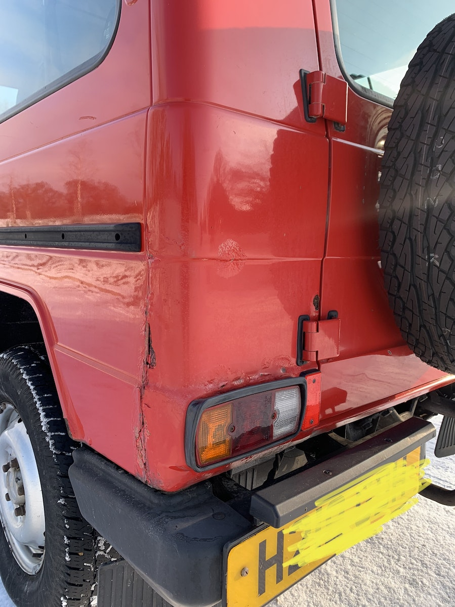 1991 Mercedes gwagon 300gd For Sale (picture 6 of 12)