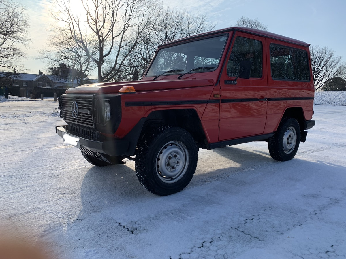 1991 Mercedes gwagon 300gd For Sale (picture 8 of 12)