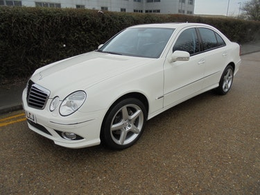 Picture of 2008 MERCEDES E CLASS E550 5.5 PETROL AUTOMATIC For Sale