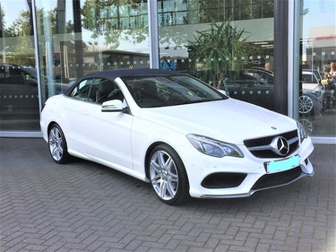Picture of 2016 MercedesE220 Diesel Bluetec AMG Line Convertible For Sale
