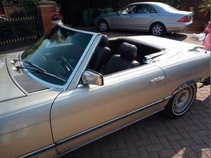 1985 380SL Convertible with hardtop For Sale (picture 2 of 12)