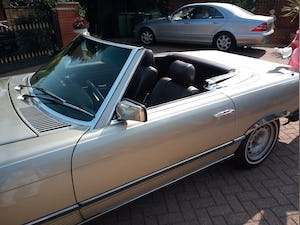 1985 380SL Convertible with hardtop For Sale (picture 10 of 12)