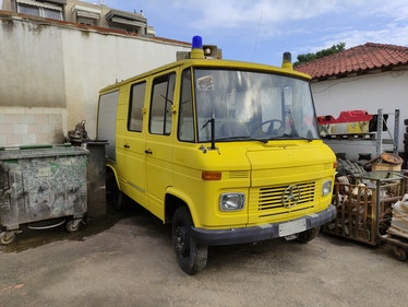 Picture of 1976 Mercedes 409 Ex-fire truck Camper project For Sale