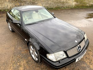 superb 2000/W Mercedes SL320 (R129)+pano roof+rear seats For Sale (picture 9 of 23)