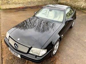 superb 2000/W Mercedes SL320 (R129)+pano roof+rear seats For Sale (picture 11 of 23)