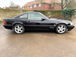 superb 2000/W Mercedes SL320 (R129)+pano roof+rear seats For Sale (picture 20 of 23)