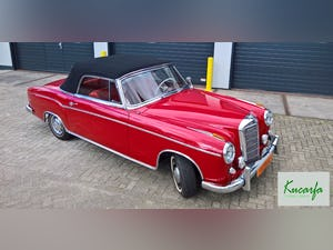 1959 Mercedes 220S Cabriolet (UK-title) For Sale (picture 1 of 11)
