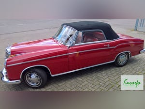 1959 Mercedes 220S Cabriolet (UK-title) For Sale (picture 4 of 11)