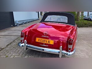 1959 Mercedes 220S Cabriolet (UK-title) For Sale (picture 5 of 11)