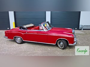 1959 Mercedes 220S Cabriolet (UK-title) For Sale (picture 7 of 11)