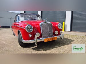 1959 Mercedes 220S Cabriolet (UK-title) For Sale (picture 10 of 11)