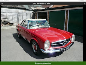 MERCEDES 230SL PAGODA 1965 UK RHD AUTO/PAS H&S TOPS For Sale (picture 4 of 40)