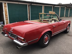 MERCEDES 230SL PAGODA 1965 UK RHD AUTO/PAS H&S TOPS For Sale (picture 8 of 40)