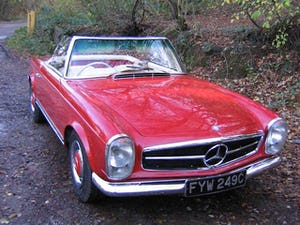 MERCEDES 230SL PAGODA 1965 UK RHD AUTO/PAS H&S TOPS For Sale (picture 18 of 40)