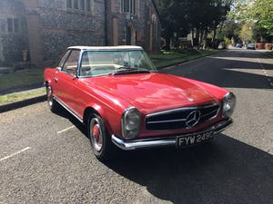 MERCEDES 230SL PAGODA 1965 UK RHD AUTO/PAS H&S TOPS For Sale (picture 19 of 40)