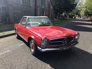 MERCEDES 230SL PAGODA 1965 UK RHD AUTO/PAS H&S TOPS For Sale (picture 20 of 40)