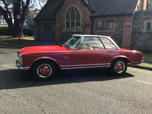MERCEDES 230SL PAGODA 1965 UK RHD AUTO/PAS H&S TOPS For Sale (picture 21 of 40)