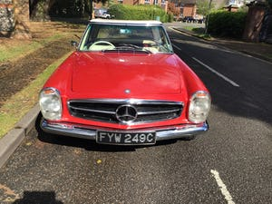 MERCEDES 230SL PAGODA 1965 UK RHD AUTO/PAS H&S TOPS For Sale (picture 28 of 40)