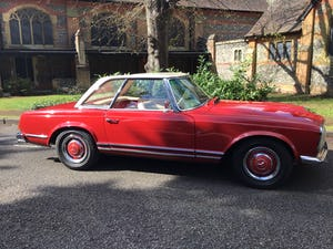MERCEDES 230SL PAGODA 1965 UK RHD AUTO/PAS H&S TOPS For Sale (picture 34 of 40)