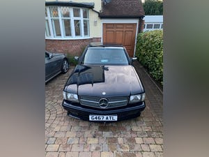 1990 Stylish, formidable, classic Mercedes Benz 560 SEC For Sale (picture 5 of 9)