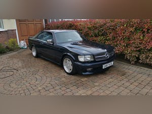 1990 Stylish, formidable, classic Mercedes Benz 560 SEC For Sale (picture 6 of 9)
