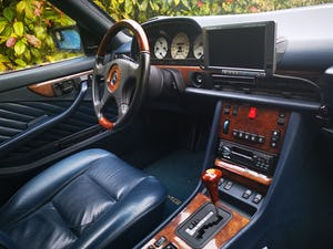 1990 Stylish, formidable, classic Mercedes Benz 560 SEC For Sale (picture 8 of 9)