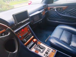 1990 Stylish, formidable, classic Mercedes Benz 560 SEC For Sale (picture 9 of 9)