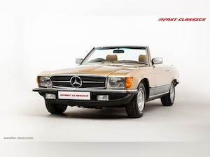 1985 MERCEDES 500 SL // 16K MILES // 20 YEAR FAMILY OWNERSHIP For Sale (picture 2 of 29)