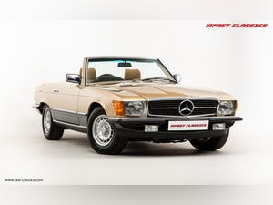 1985 MERCEDES 500 SL // 16K MILES // 20 YEAR FAMILY OWNERSHIP For Sale (picture 7 of 29)