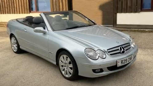 Picture of 2006 Beautiful Two Owner Mercedes CLK 280 Elegance Convertible For Sale